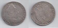 Gertbrolen Louis XIV  (1643-1715) Ecu d' argent  aux Palmes 1694 Rennes