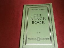 1959 Lawrence Durrel The Black Book (From the Durrels in Corfu) Olympia Press