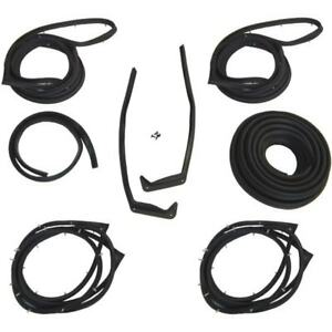 1958 Chevrolet & Pontiac 4dr Sedan Body Weatherstrip Seal Kit
