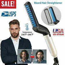 Hair Straightener Brush Quick Beard Comb Curling Curler Show Cap Heat Styling O