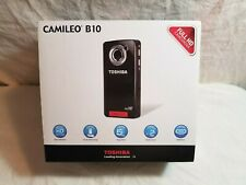 Toshiba Camileo B10 Camcorder with accessories new