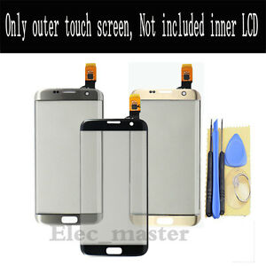 For Samsung Galaxy S6 S7 Edge G935 Touch Screen Digitizer Glass Lens Replacement