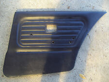 BMW e30 SEDAN  1983-1991 black door panels good condition REAR RIGHT door