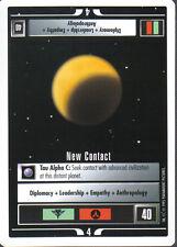STAR TREK CCG WHITE BORDER PREMIERE 1995 BETA RARE CARD NEW CONTACT