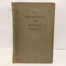 The Psychology of Normal People Book by Joseph Tiffin 1st Edition 1946