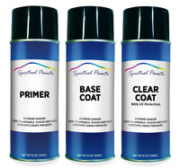 For Toyota 1H5 Cement Gray Metallic Aerosol Paint Primer & Clear Compatible