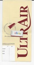 ULTRA AIR TICKET JACKET/FOLDER 1983 YOUR TICKET TO FREEDOM 727-200