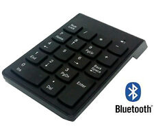 Bluetooth Wireless 18 Keys Number Pad Numeric Keypad Keyboard for Laptop Tablet
