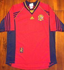 Adidas SPAIN 1998 World Cup Home Soccer Jersey Camiseta L Football Shirt España