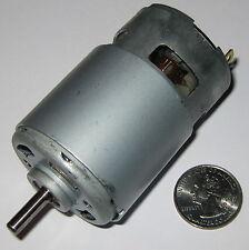 215 Watt Electric 12 VDC Motor - 25,000 RPM - 770 Frame Size Robot High Speed DC