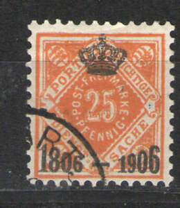 German States - Wurttemberg 1906 Sc# O11 Used VG - Scarce used Official