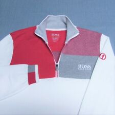 Boss Hugo Boss 1/4 Zip Golf Sweater-M-British Open!-Exceptional Look! &Quality