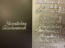 Stickerbogen 959 Weihnachten Gold Nr