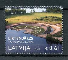 Latvia 2018 MNH Liktendarzs Garden of Destiny 1v Set Nature Trees Stamps