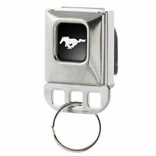 Ford Mustang Pony Large Seatbelt Buckle Key Chain