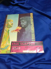 Eric Clapton Japan tour book and  unused ticket 1975 Tokyo budokan Layla