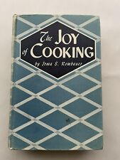 The Joy of Cooking by Irma S. Rombauer 1943 Bobbs Merrill Hardcover Basketweave
