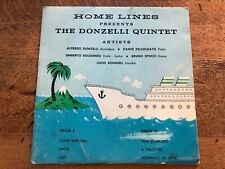 home lines - the donzelli quintet signed ! 45 record