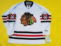new w tags 2015 Winter Classic Chicago Blackhawks Jersey Reebok mens medium M