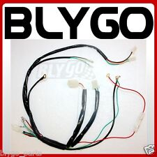 Electric Start Wiring Harness Loom 50cc 110cc 125cc PIT QUAD DIRT BIKE ATV BUGGY