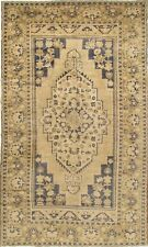 """Vintage Oushak Hand-Knotted Rug 7'9"""" X 13'5"""" e22214"""