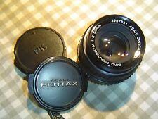 Pentax  Asahi  SMC  M     vintage     lens    50mm        1:2