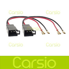 Vauxhall Corsa 93 - 07 Speaker Adaptor Plug Leads Cable Connectors Pair PC2-805