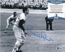 BROOKS ROBINSON  BALTIMORE ORIOLES  BECKETT AUTHENTICATED   ACTION SIGNED 8x10