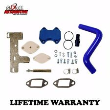 New Complete EGR Delete Kit 10-16 Dodge Ram 2500 3500 for L6 6.7L Cummins Diesel