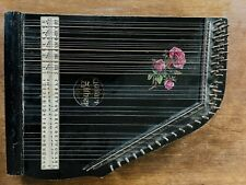 Zither Zitter Antik Retro Vintage Musik Instrument