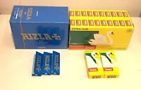 600 RIZLA BLUE ROLLING PAPERS & 600 SWAN EXTRA SLIM FILTER TIPS ORIGINAL