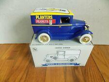 PLANTERS PEANUTS Diecast Ford Model A Delivery Van 1/25  BANK Liberty Classics