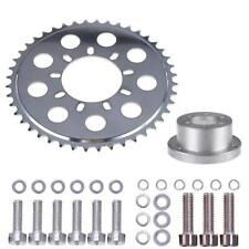 Gas Motorized Bicycle Wheel 2 Stroke Engine Kit Rear Hub Adapter Sprocket 44T
