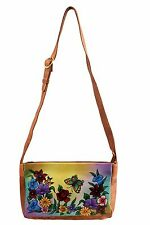 Balona  Exclusive Real Cow Leather Hand painted Gift Slingbag Crossbody bag