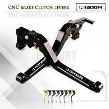 Motorbike CNC Alu Long Brake Clutch Adjustable Levers Set for BMW R1200R 06-14