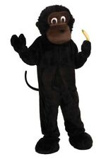 Forum Novelties Men's Deluxe Plush Gorilla Costume Halloween Dress Up Size 42