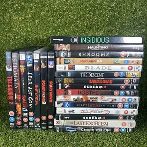 Large Horror Movie DVD Bundle - 22 Movies - Ideal For Halloween - Good Mix
