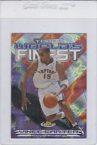 2000-01 Finest World's Finest Vince Carter
