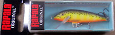 Trout Fishing Lure, Rapala Original Floating Minnow, F-5 HS Balsa Wood Crankbait