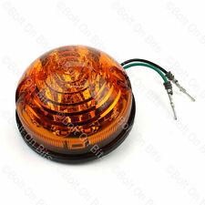 RDX LED Amber Indicator Light/lamp Land Rover Defender 90/110 73mm 12v 24v