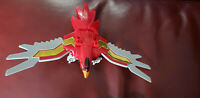 BANDAI 1996 POWER RANGERS DELUXE ZEO MEGAZORD ZORD V 5 RED PHOENIX * parts *