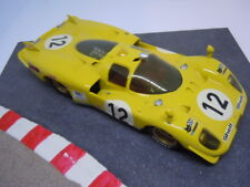 Fisher ferrari 512 Long Tail scaleracer en sakatsu anglewinder chasis 1:24