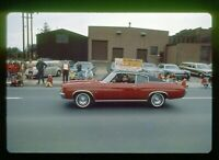 Vtg 1971 35mm Slide - 1972 Chevelle Malibu Car in Parade - Erie PA Fire Dept.