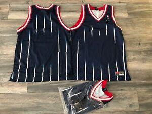 New Vintage Nike Houston Rockets 🚀 Blank Jersey Men's Large 1995 Spaceship