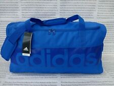ADIDAS Lrg Barrel Bag Mens Soft Light Poly Duffel Carry Blue Shoulder Bags BNWT