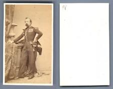 Général Marquis d'Audigné vintage carte de visite, CDV  CDV, tirage album