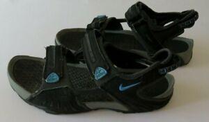 NIKE ACG Herren Outdoor Sandalen - Größe 44 - schwarz / blau