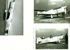 3 RIDER R-4 SCHOENFELDT FIRECRACKER 1929  RACE AIRPLANE B&W 8X10 PHOTOGRAPHS