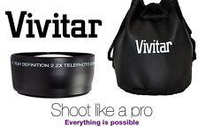 NEW PRO Hi DEF 2.2x TELEPHOTO LENS FOR CANON VIXIA HV40