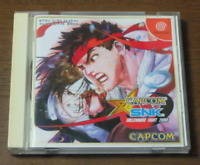 Capcom vs. SNK: Millennium Fight 2000 japan import Sega Dreamcast